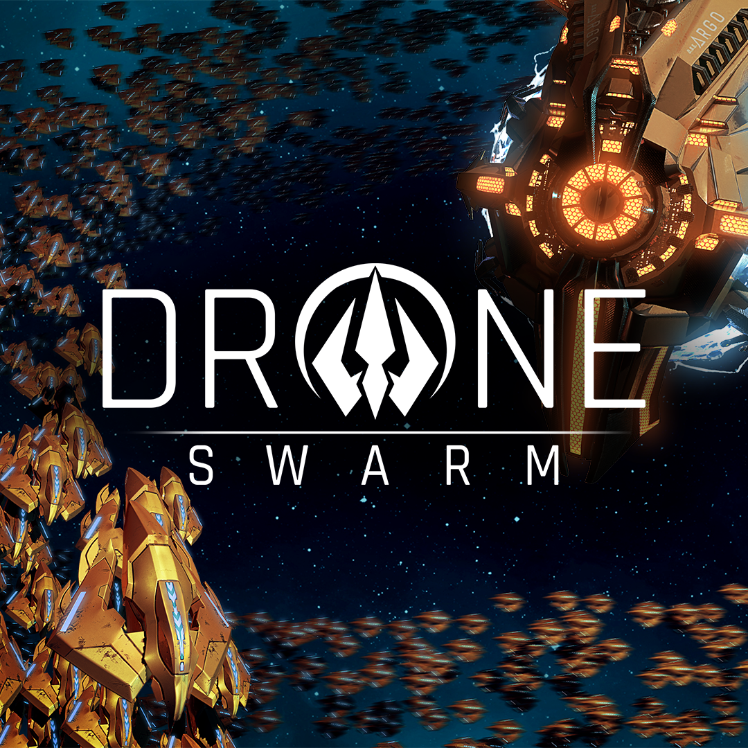 Poster. Drone Swarm